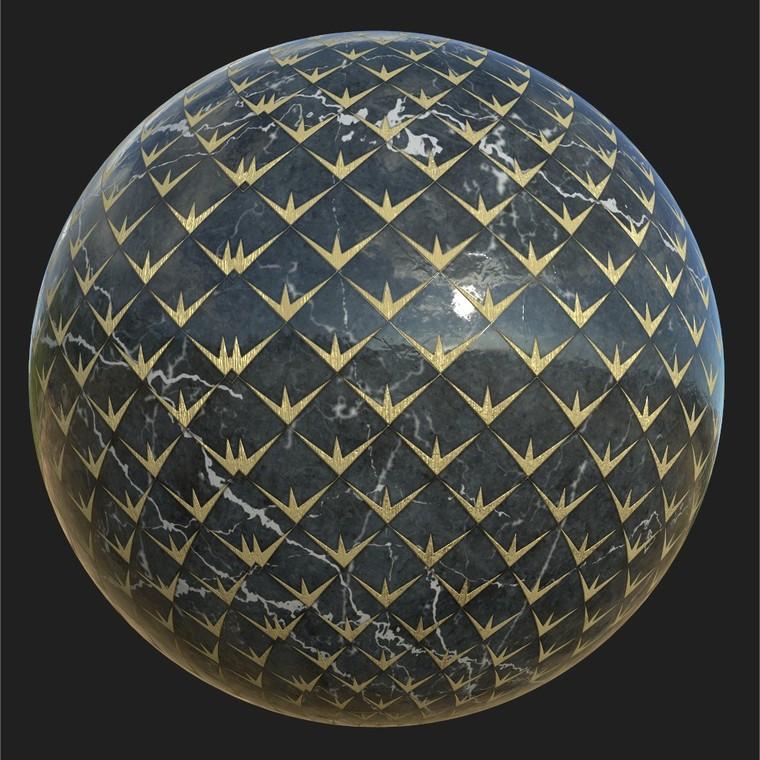 Sphere 2 tiles   iray