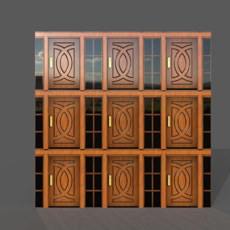 Door texture scale