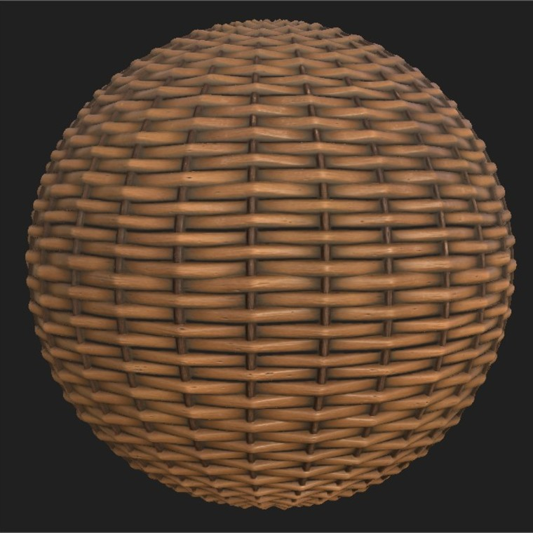 Substance player 2019.1   wicker basket.sbsar