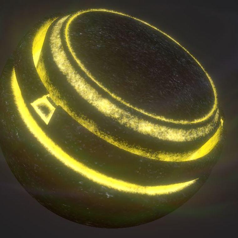 Coal illumination yellow