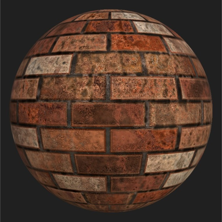 Substance player 2019.1   brick wall.sbsar