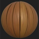 Substance player 2019.1   stylized wood planks estherlove.sbsar