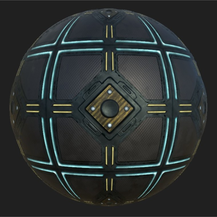 Substance player 2019.1   sci fi floor plate.sbsar