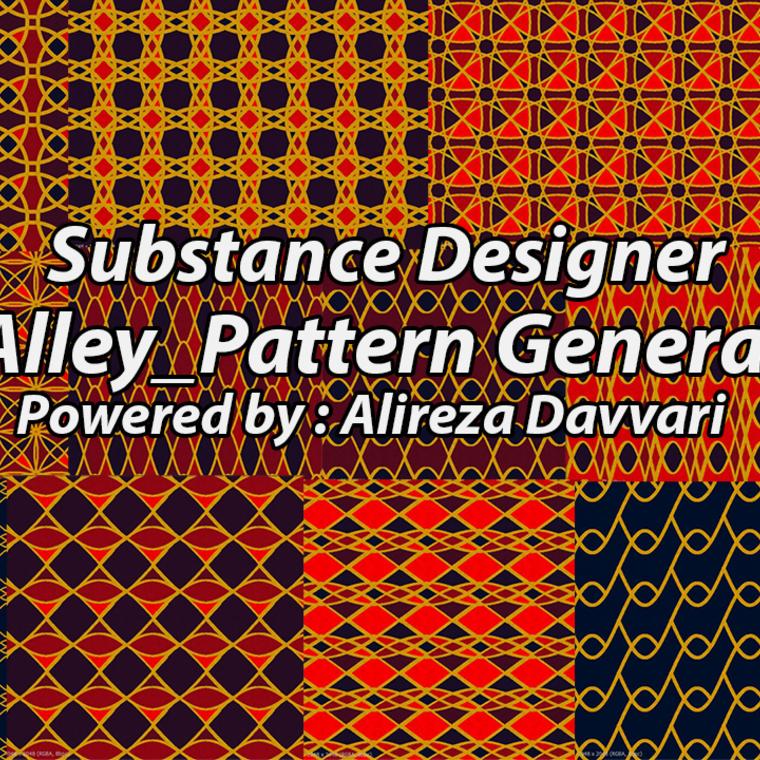 Pattern generator poster