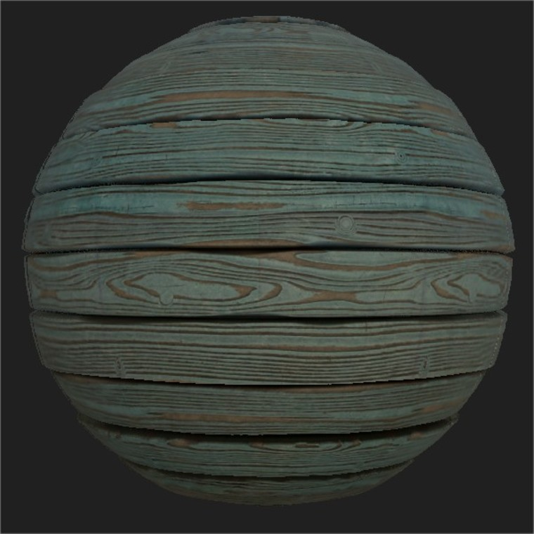 Substance player 2019.1   peeling wood.sbsar 2