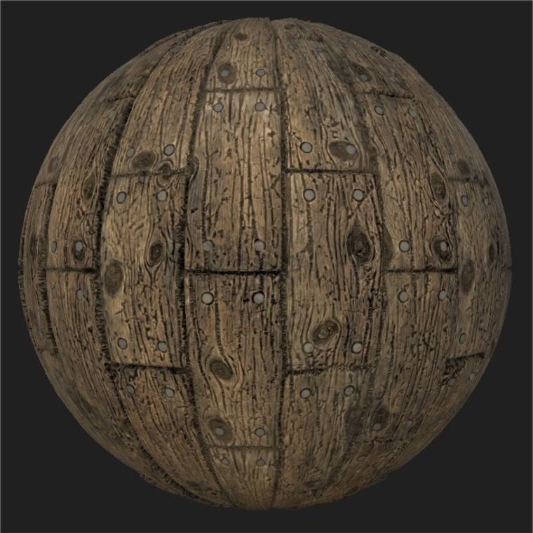 Substance player 2019.1   wood planks.sbsar