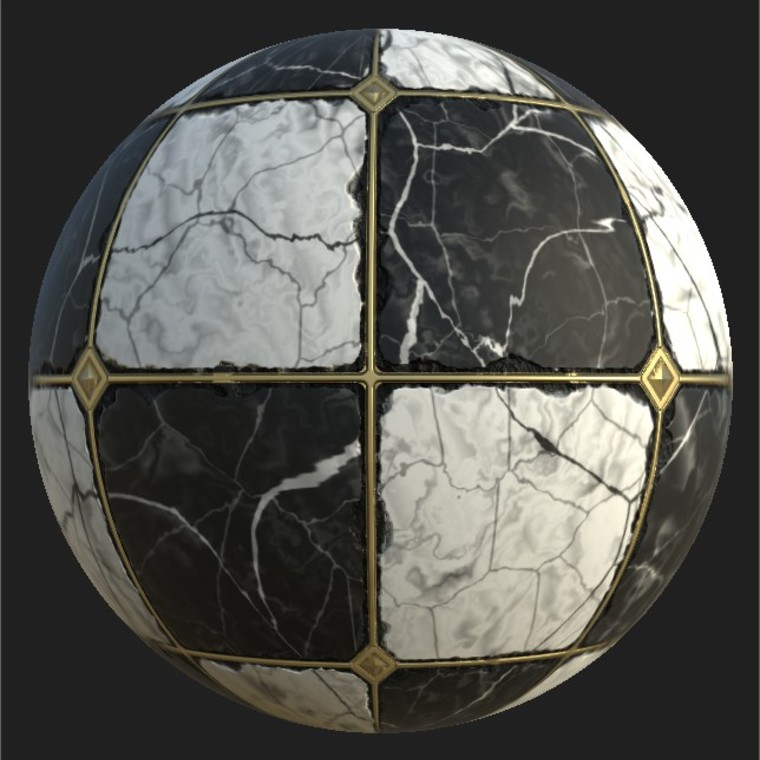Substance player 2019.1   marble tiles .sbsar