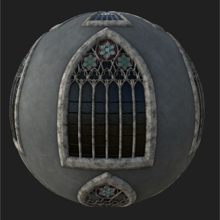 Substance player   gothicwindow designer v1.0.sbsar