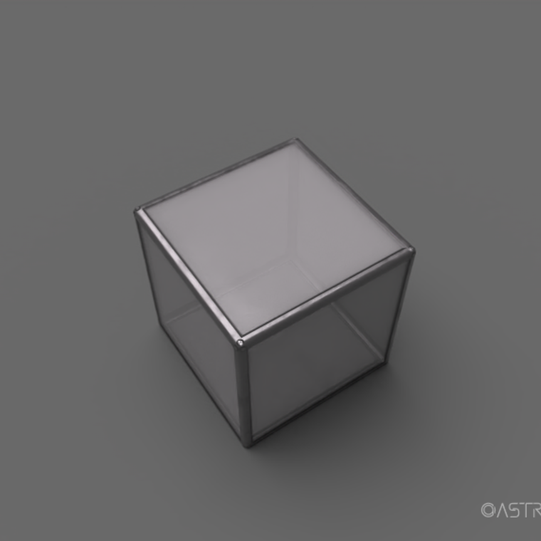 Glass material render 1