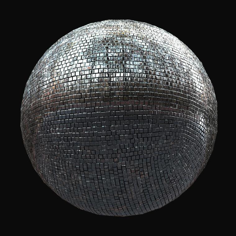 Vignette mirror ball main